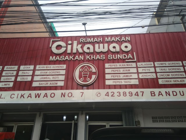 Rumah Makan Cikawao dengan Rasa Sunda Asli