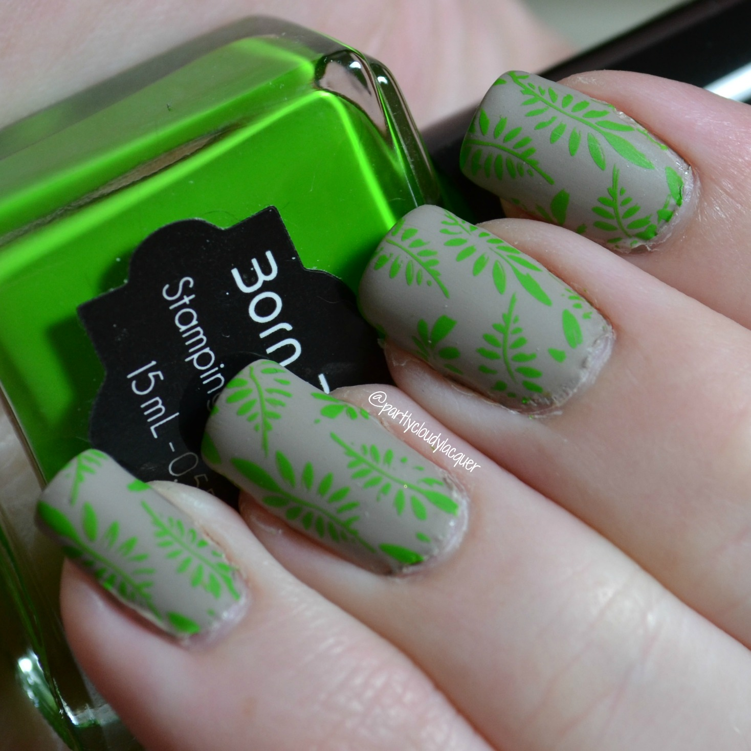 Jungle Nails | Partly Cloudy With a Chance of Lacquer
