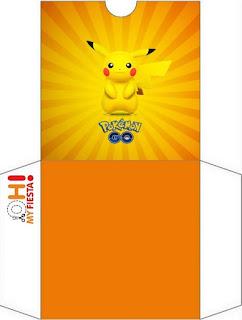 Funda para CD's para imprimir gratis de Pikachu.