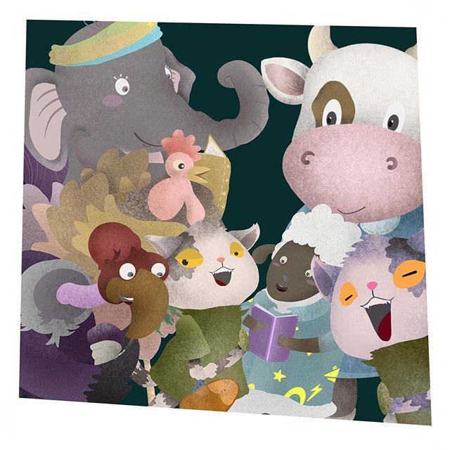 jasa ilustrasi buku anak