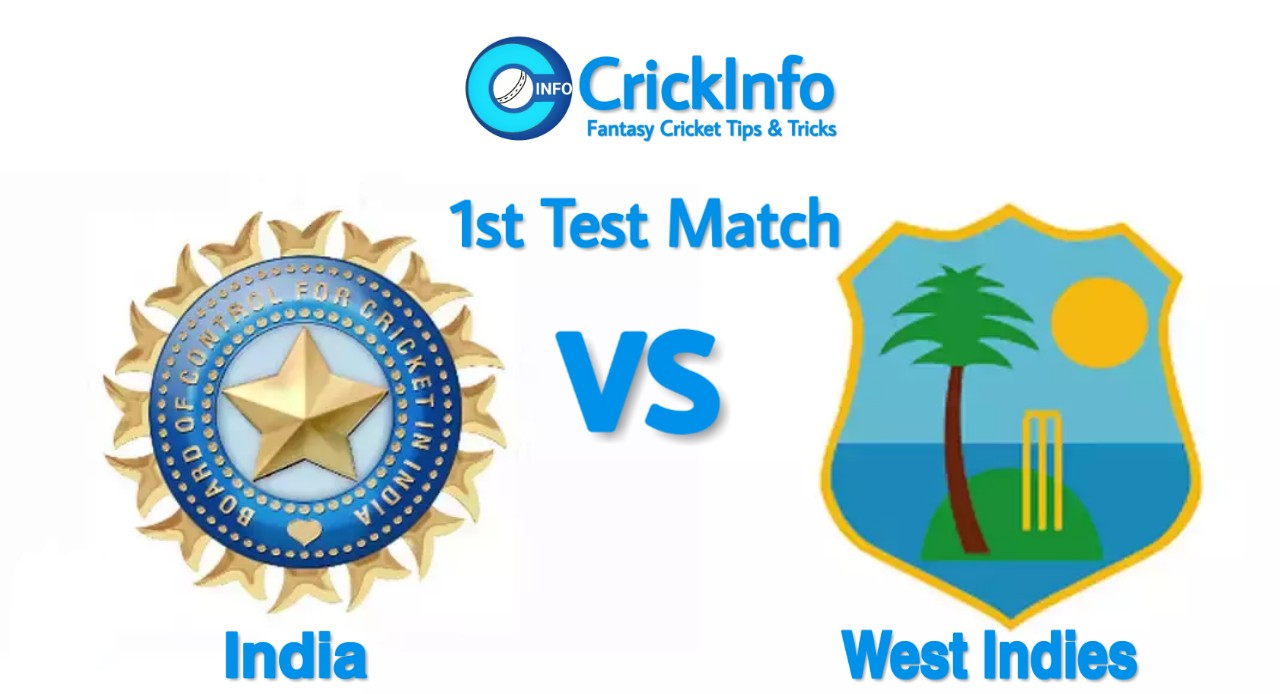 India vs West Indies 1st Test Match , India Tour of West