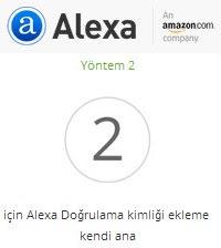 Alexa site kaydı nasıl yapılır