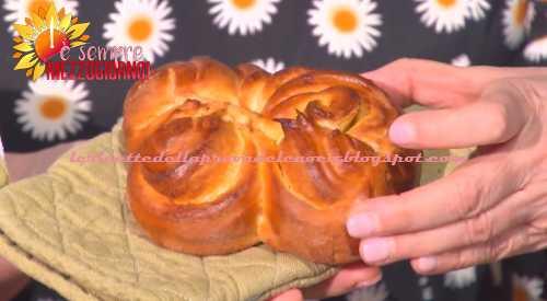 Fiori di brioche ricetta Fulvio Marino