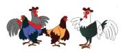 Pak Mahmud menangkap seekor ayam