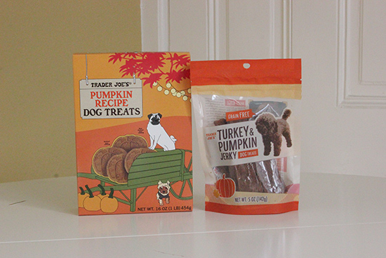 Trader Joe's Dog Treats | Fall Haul | Will Bake for Shoes