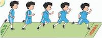 pjok kelas 2 berlari