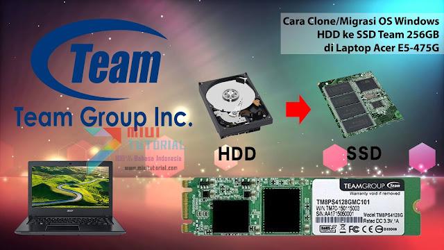 Panduan Lengkap Cara Memilih, Membeli SSD M.2 Serta Migrasi OS Windows Tanpa Install Ulang: Tested Acer E5-475g dan E5-476G