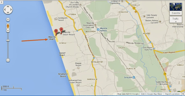 Majorda Beach Goa India Location Map,Location Map of Majorda Beach Goa India,Majorda Beach South Goa India accommodation destinations attractions hotels map reviews photos pictures,majorda beach resort casino cottage tariff rates shacks photos contact climate maps