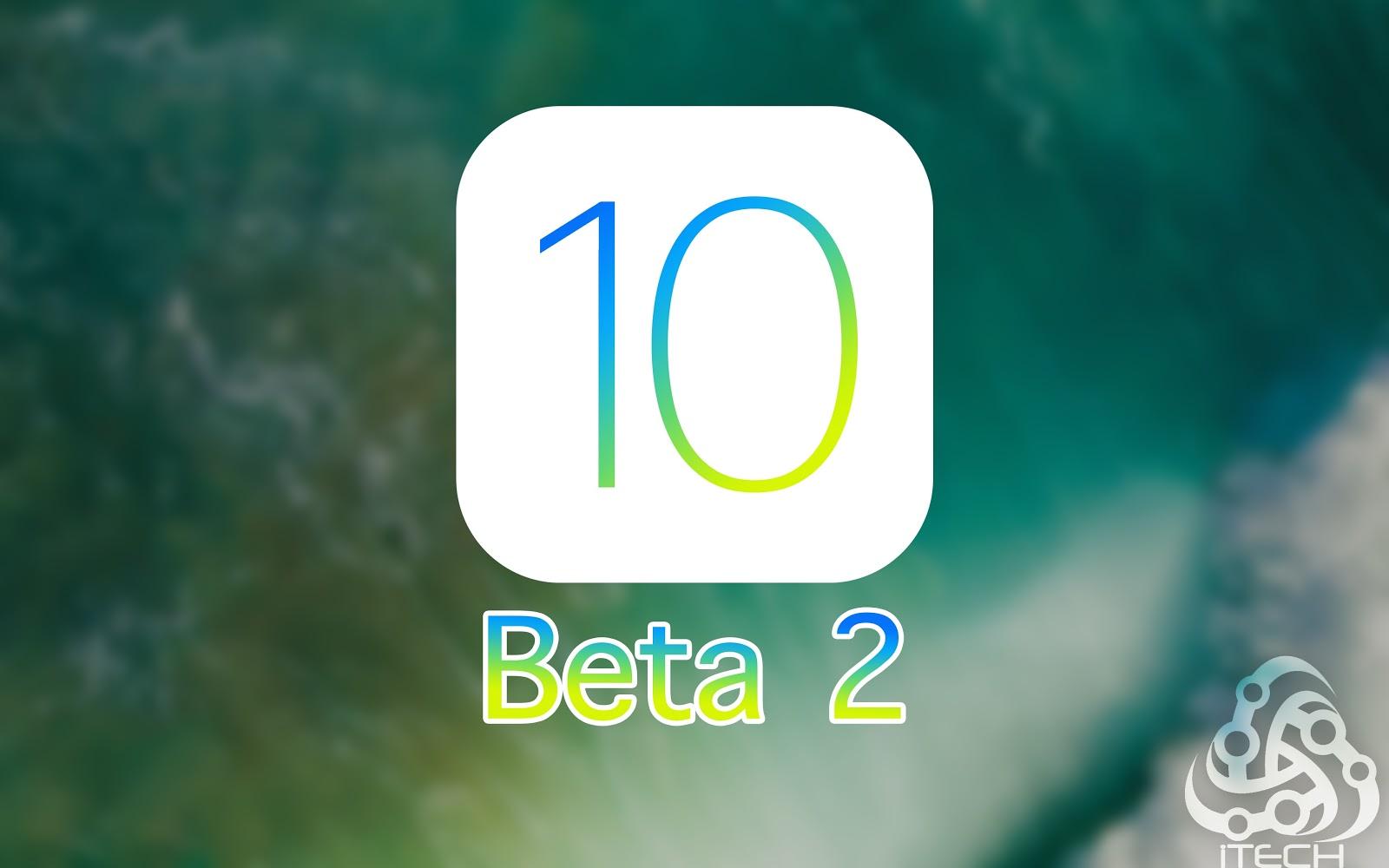 المزايا الجديدة في iOS 10 Beta 2