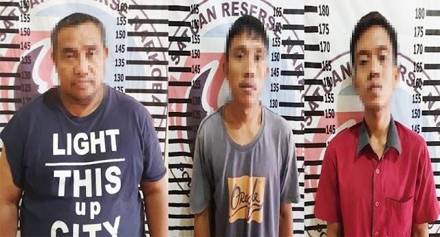 Tiga Pelaku Peredaran Gelap Narkotika di Purwajaya Ditangkap Satresnarkoba Polres Tulang Bawang