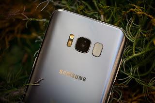 Fingerprint scanner Galaxy S8