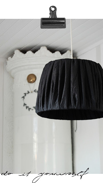 diy, lampskärm, do it yourself
