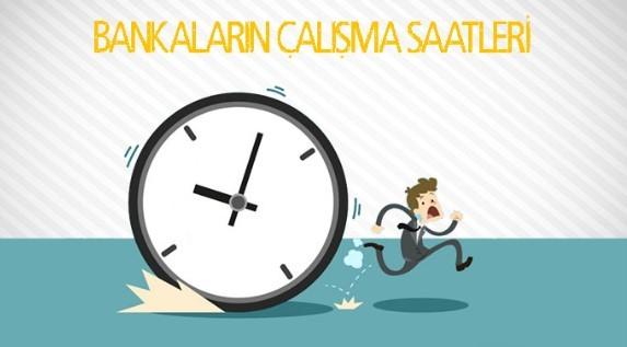 , Türkiye'deki Bankaların Güncel Çalışma Saatleri