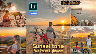 Preset Lightroom Sunset Tone Terbaru DNG & XMP