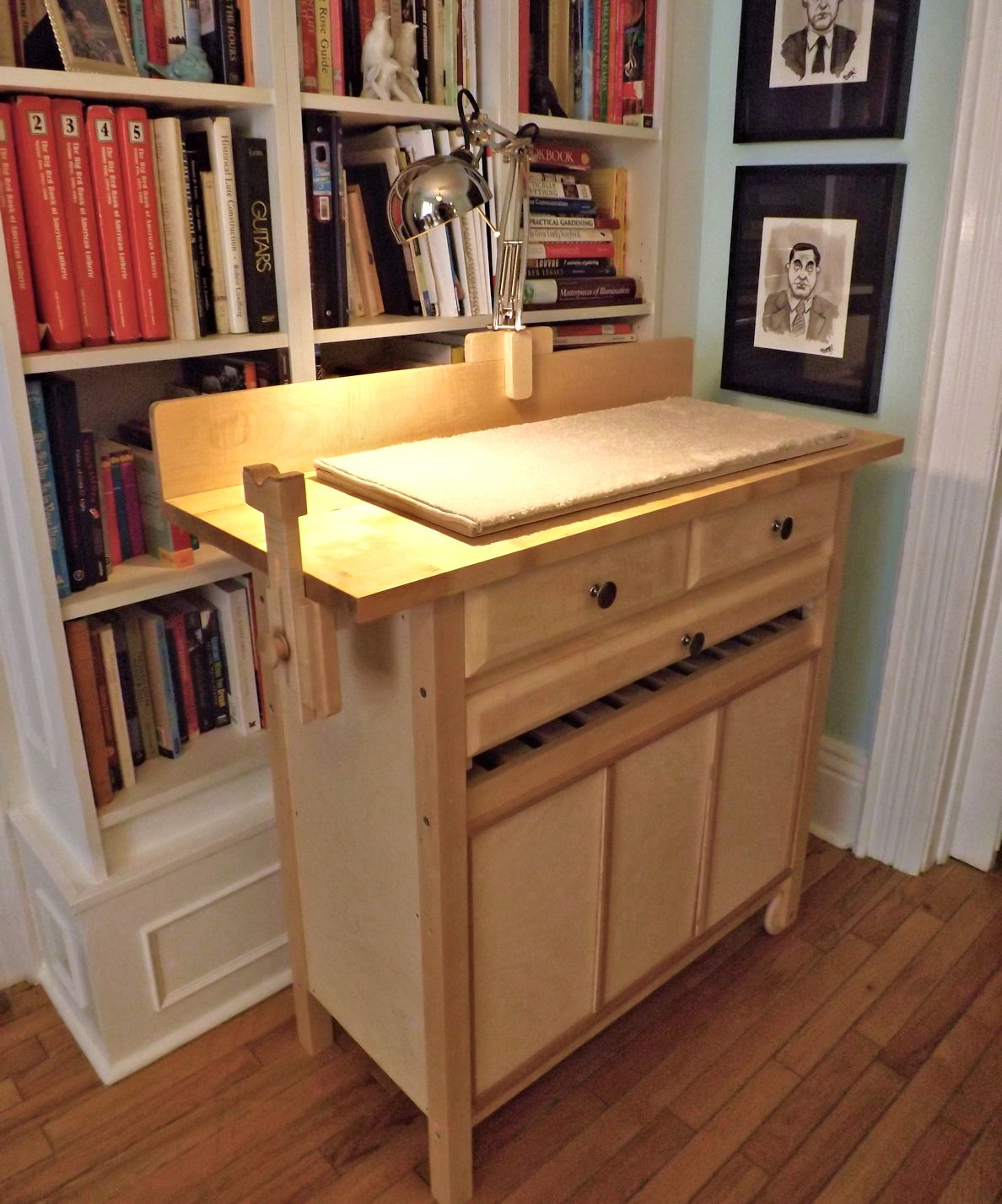 Woodford Instruments Luthier S Inspection Bench