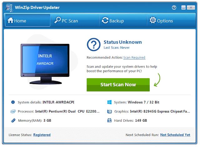 Screenshot WinZip Driver Updater 5.31.2.2 Full Version