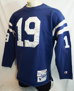 Baltimore Colts Johnny Unitas Champion Throwbacks jersey