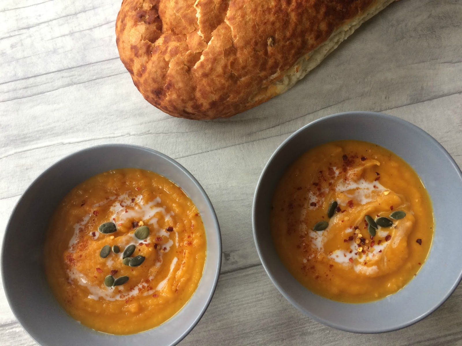 Butternut squash, sweet potato and carrot soup | tartanmouth