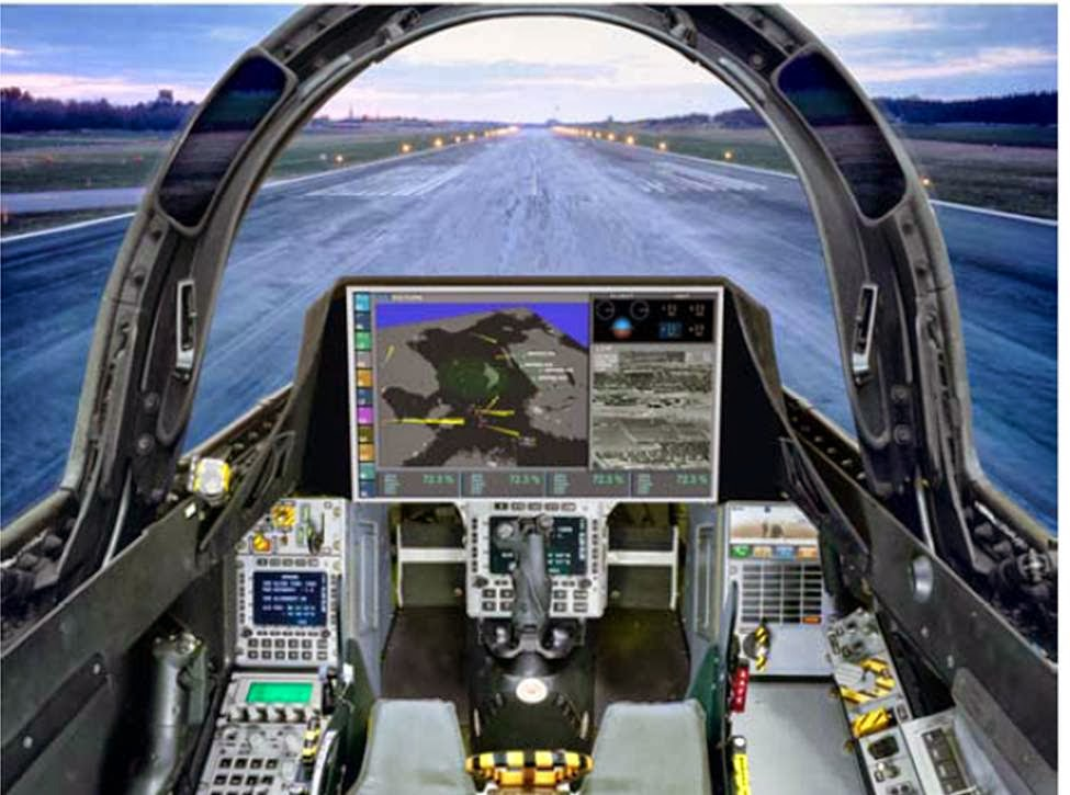 BEST FIGHTER FOR CANADA: Cockpits!