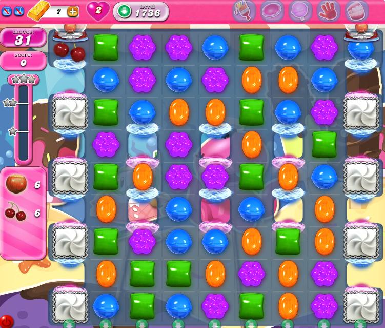 Candy Crush Saga 1736