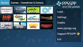 Download gratis PPSSPP - PSP emulator APK Terbaru 2016 offline