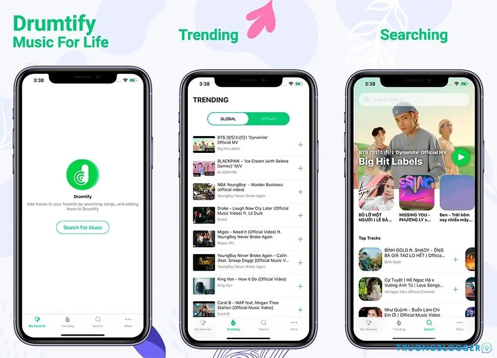 Ứng dụng tốt nhất để nghe nhạc YouTube tắt màn hình trên iPhone