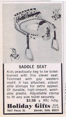 Toilet Training Saddle Seat