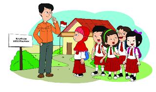 MATERI DAN KUNCI JAWABAN BUKU SISWA KELAS 3 SD TEMA 4 SUBTEMA 4 PEMBELAJARAN 3