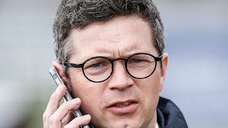Roger Varian horse trainer at Newmarket