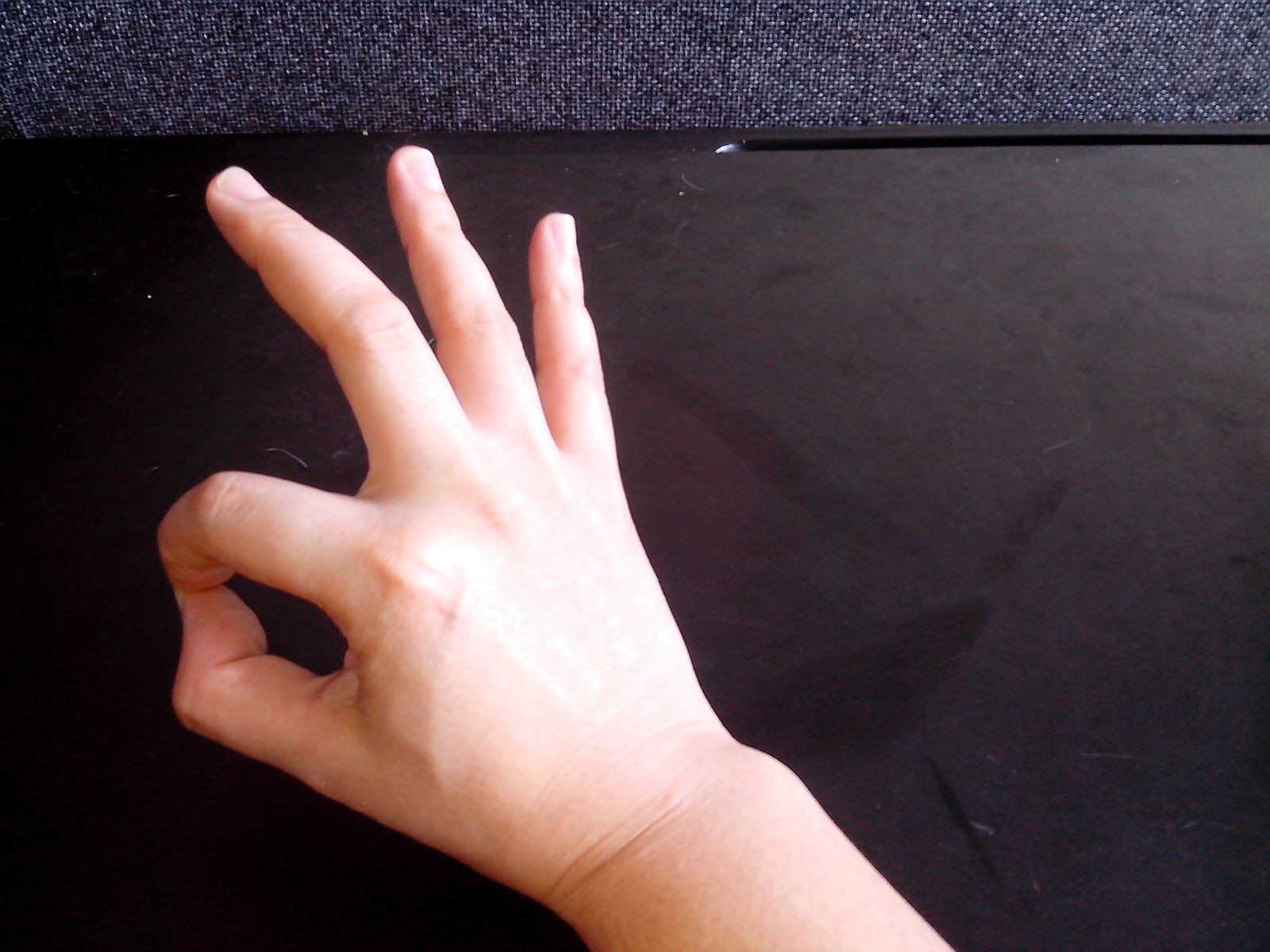 Ulnar Nerve Testing Hand