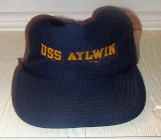 USS Aylwin ball cap