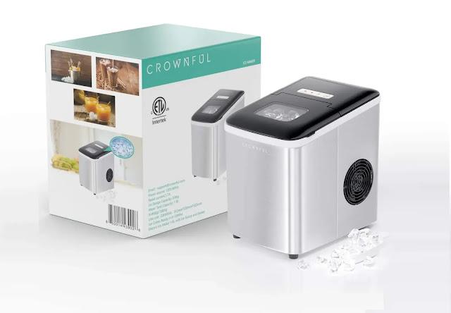Crownful Portable Ice Maker Machine