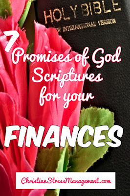 7 Promises of God Scriptures for your Finances