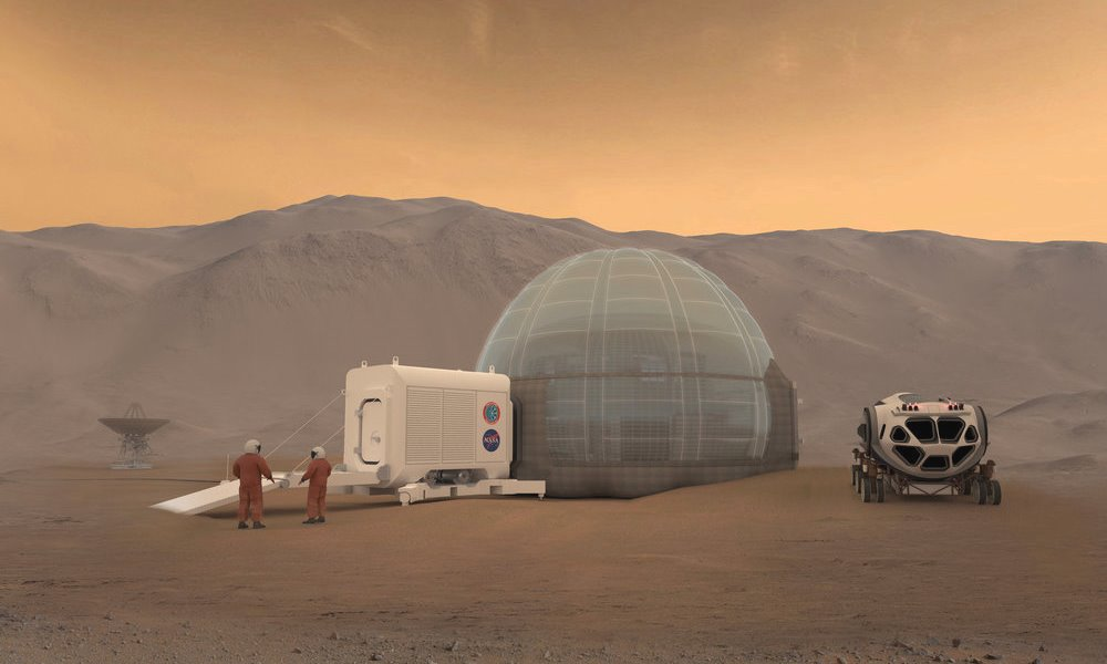 Mars Ice Home by NASA, SEArch+ & Clouds AO