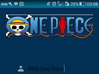 Download BBM Kimochi One Piece (New World)  v3.0.1.25 Fitur Lengkap