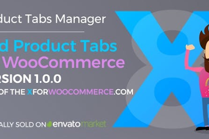 Add Product Tabs for WooCommerce v1.0.0