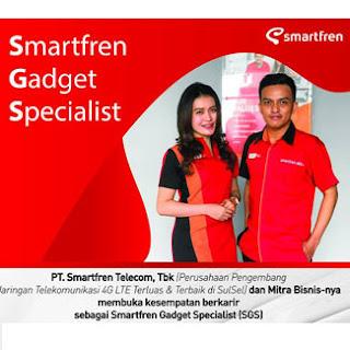 Lowongan Kerja Smartfren Gadget Specialist di PT Smartfren Telecom Tbk