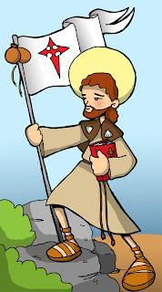 Resultado de imagen de dibujo santiago apostol