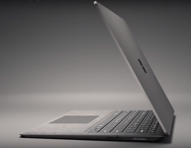 Microsoft Surface Laptop sideview and specs review