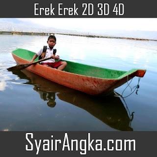 Erek Erek Naik Perahu Nelayan 2D 3D 4D