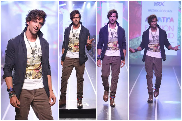 Hrithik Roshan Highlighted Curls