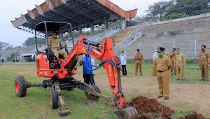 Tunjang Fasilitas Olahraga, Rehabilitasi Stadion Benteng Dikebut