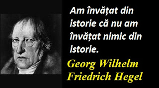 Maxima zilei: 27 august - Georg Wilhelm Friedrich Hegel