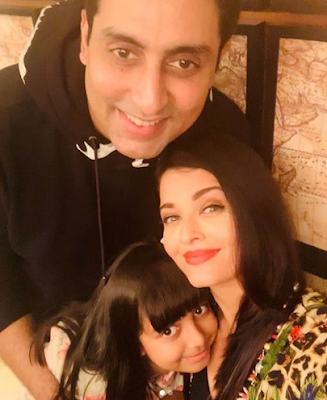 Aishwarya Rai , Daughter and Husband