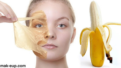 وصفة الموز للعناية بالبشرة