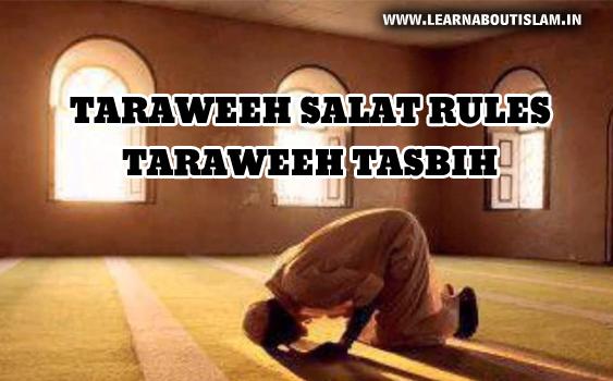 Rules of Taraweeh Salat and Taraweeh Dua