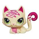 Littlest Pet Shop Sundae Sparkle Cat (#3385) Pet
