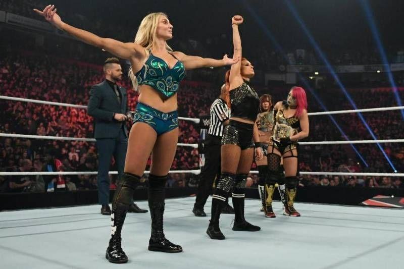 Kairi Sane didn't mean to kick Charlotte in the head
