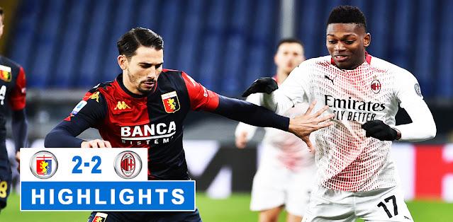 Genoa vs Milan – Highlights