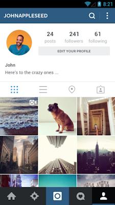 Cara menghapus foto di instagram dengan cepat